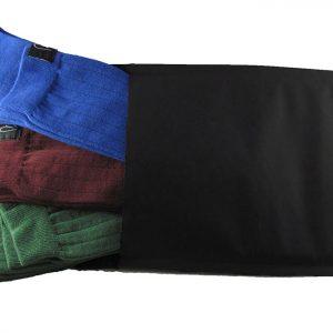 Calze Noi2-antispaiamento-uomo-tris-scatola-lunghe-verde-bordeaux-blu