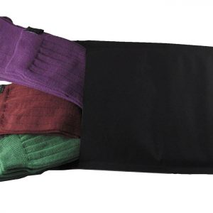 Calze Noi2-antispaiamento-uomo-tris-scatola-lunghe-verde-bordeaux-viola