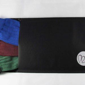 Calze-uomo-corte-Noi2-antispaiamento-uomo-verde-B-blu scatola