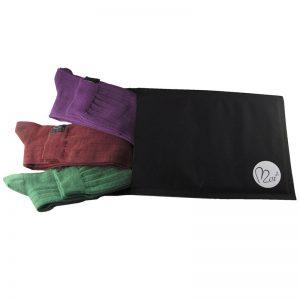 pacco tris lunghe verde-bor-viola