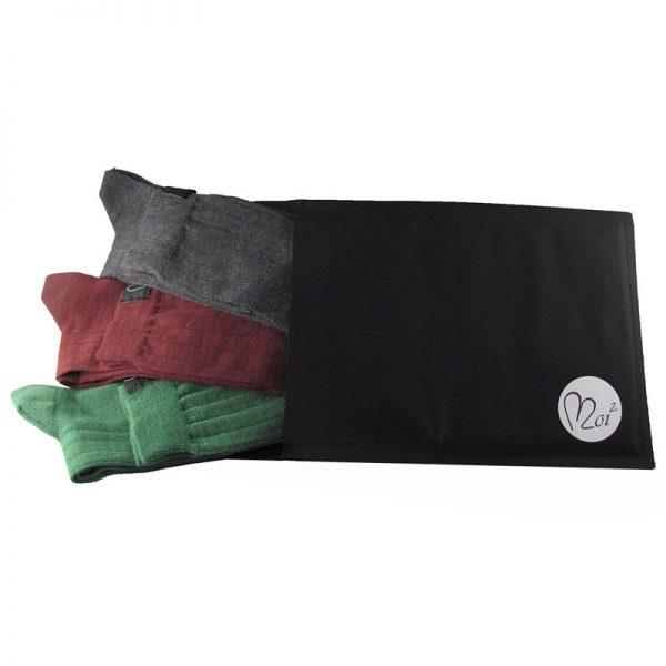 pacco tris lunghe verde-bordeaux-antracite