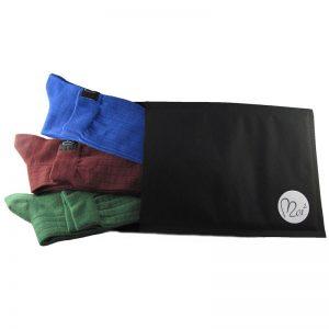 pacco tris lunghe verde-bordeaux-blu