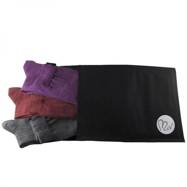 pacco tris lunghe viola-bor-antra